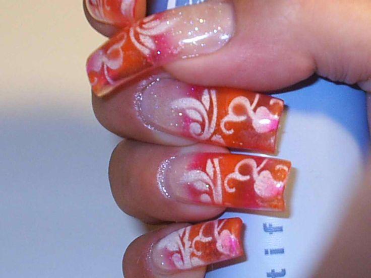 airbrushed nails | Airbrush Nail Art