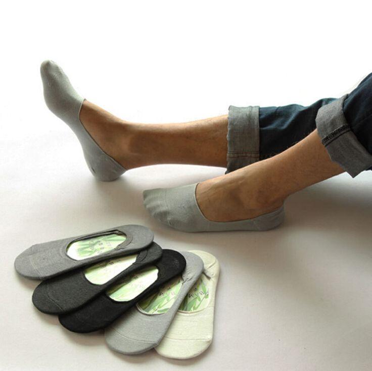Men's Socks, slipper fie Non-slip 10pcs=5pairs/