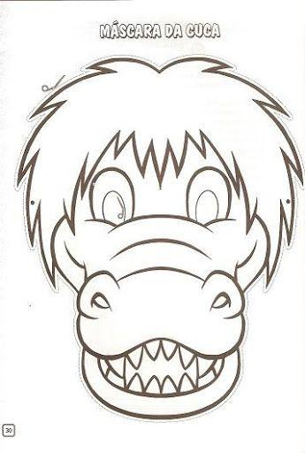 Mejores 9 imágenes de máscara cocodrilo en Pinterest | Cocodrilos ...