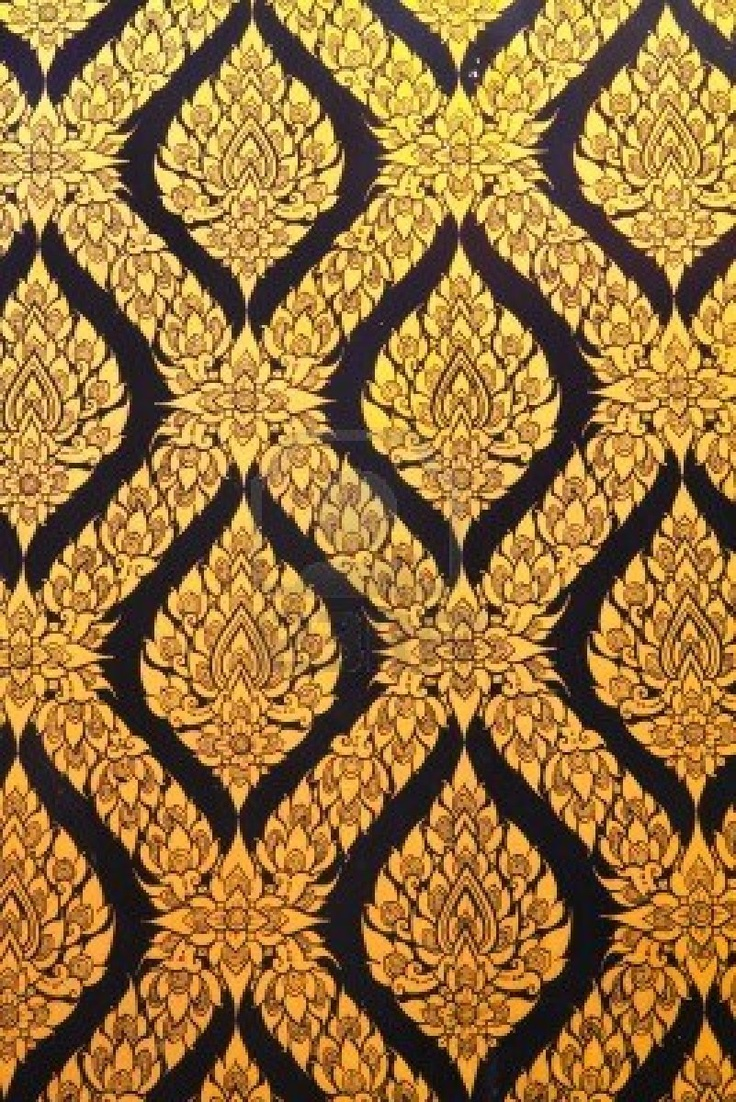 Thai art wall pattern for the home pinterest art for Thai wallpaper gallery