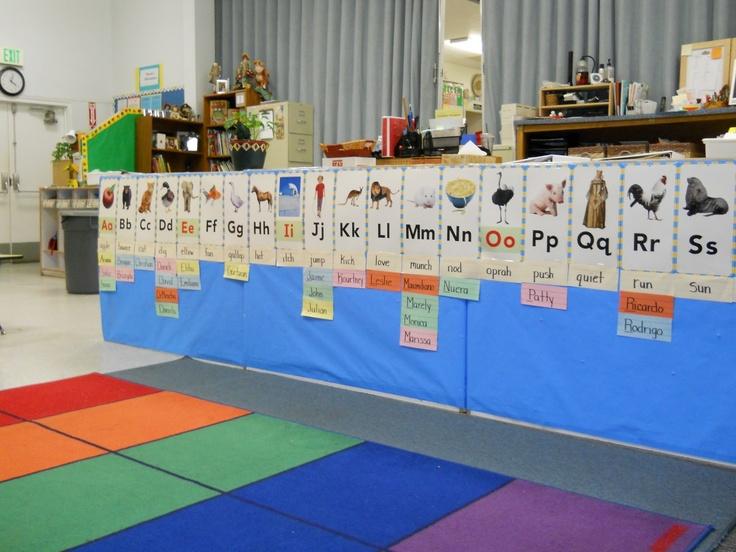 Word Wall Ideas For Preschool : Best ideas about preschool word walls on