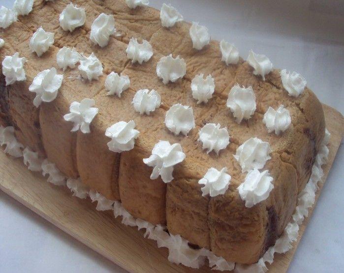 Замороженный торт мельба