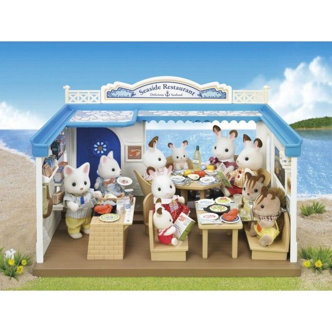 Everybody loves some Sylvanian Families! We've got the new Seaside collection online, and this 90 piece Seaside Restaurant set is definitely a stand out. Beautifully detailed, it contains everything you need to set up your own popular restaurant on the board walk! #sylvanianfamilies #entropytoys #newarrival