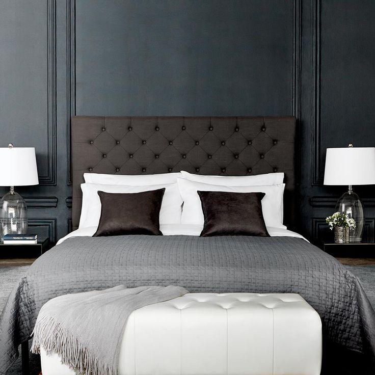 1000 id es sur le th me bancs t te de lit sur pinterest bancs t tes de lit et vieille t te de lit. Black Bedroom Furniture Sets. Home Design Ideas