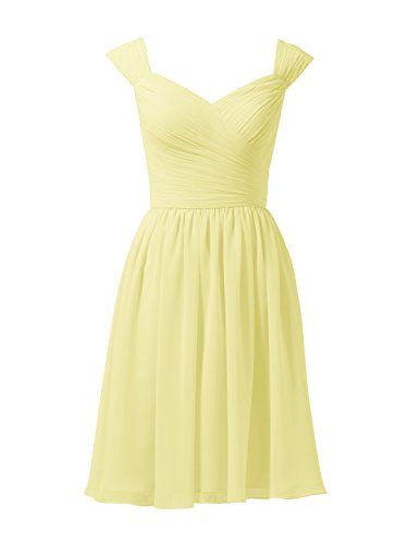 3889b7ea32f Alicepub Short Pleated Chiffon Bridesmaid Dress ALine Cocktail Prom Party Dress  Sweetheart Formal Womens Gown 2017