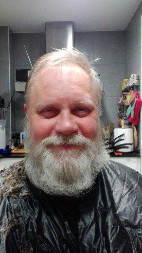 Before shaving ! :)