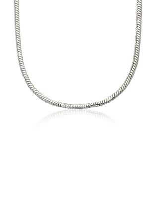 Little Miss Twin Stars Snake Chain Necklace