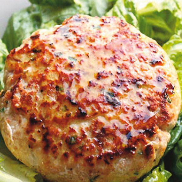 Hamburger di pesce spada al profumo di limone