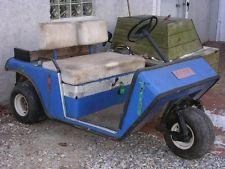 parts only ge 36 volt 1976 electric ez go ezgo 3 wheel. Black Bedroom Furniture Sets. Home Design Ideas