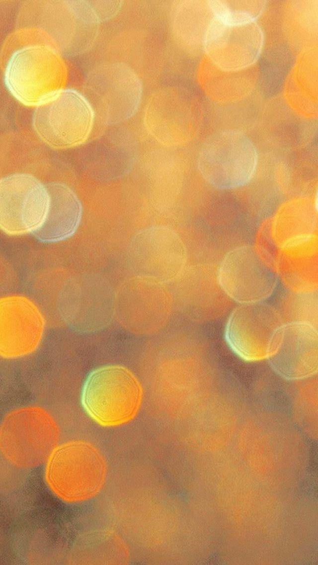 Warm Orange Light Bokeh Pattern #iPhone #5s #wallpaper Warm Orange Light Bokeh Pattern <a class=