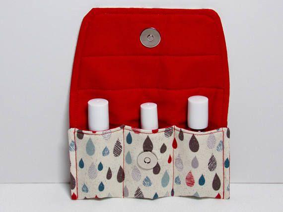 Essential oil bag Oil holder Essential oil storage Roller