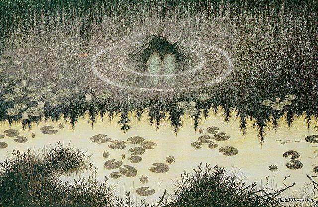 Noekken-El Duendecillo en el Agua-Teodor Kittelsen
