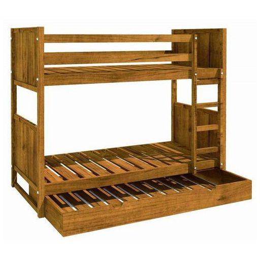 M s de 1000 ideas sobre literas de madera en pinterest - Literas de madera maciza ...