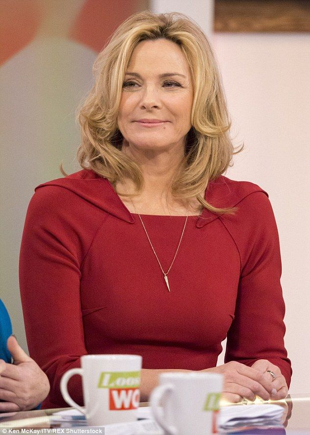 Doctor's orders: Kim Cattrall has been forced to pull out of her new West End play, entitled Linda, due to a mystery illness. Pictured here appearing on Loose Women in April 2015