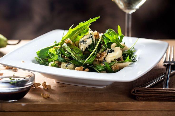 Fifth avenue walnut salad med Castello® Blå Økologisk