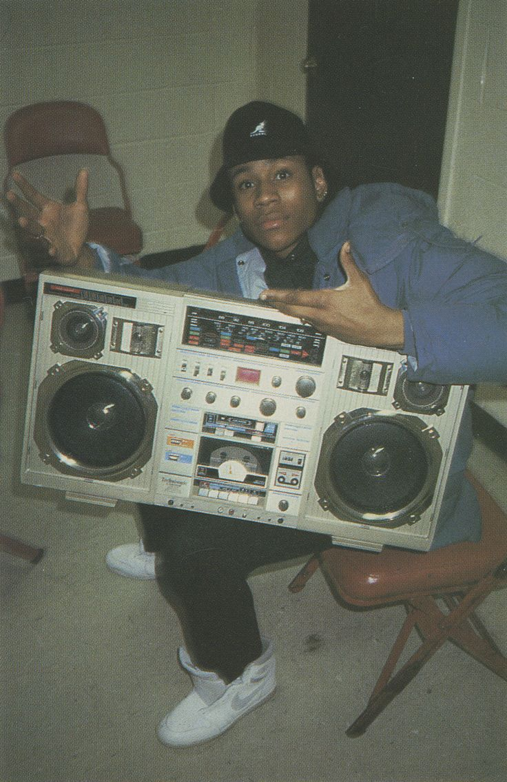 LL cool J  the bigger the better back in the day!  Haha