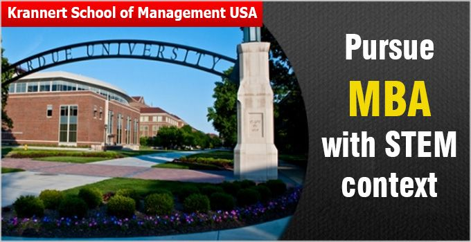 Krannert School of Management at Purdue University is one of the worlds reputed MBA programmes with high ROI.