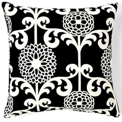 Jiti Floret Silk Throw Pillow Color: