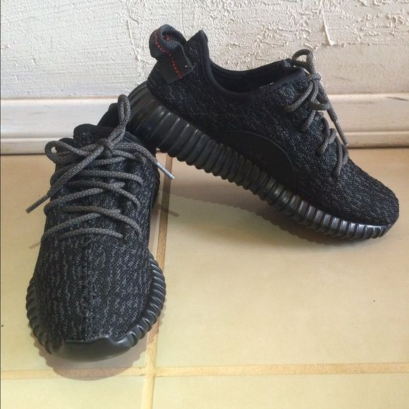 Yeezy Boost 250 Pirate Black (LAST ONE, NEEDS TO GO) NEW Adidas low