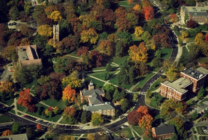 Michigan State Campus - I have probably spent more time there than anywhere else in my life.
