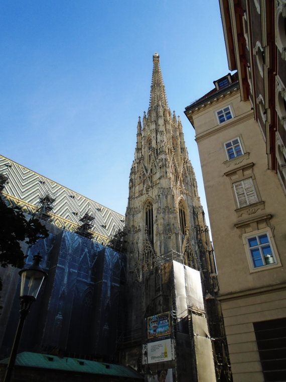 Steffl Tower of St. Stephen's Cathedral Vienna by MikeKrausArt