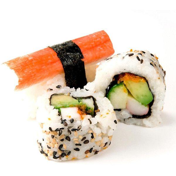 32. Sushi maken met Gert (VOLGEBOEKT) ❤ liked on Polyvore