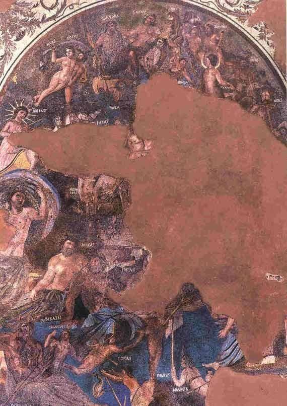 Mérida el impresionante mosaico cosmológico de la Casa del Mitreo