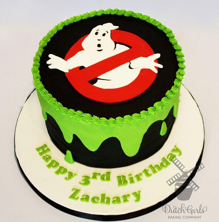 ghostbusters cake you Dutch Girls Baking Co