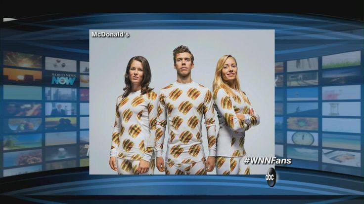 The Mix on ABC covers the new BigMac clothing line from bigmacshop.se