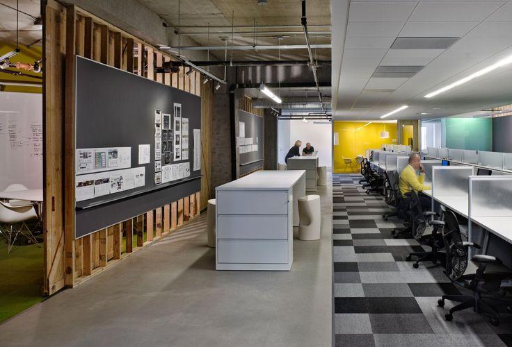 Razorfish Office Work Area