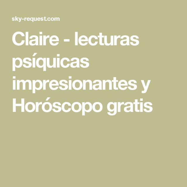 Claire - lecturas psíquicas impresionantes y Horóscopo gratis