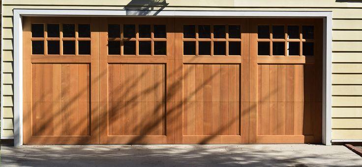 Image result for custom garage doors wood