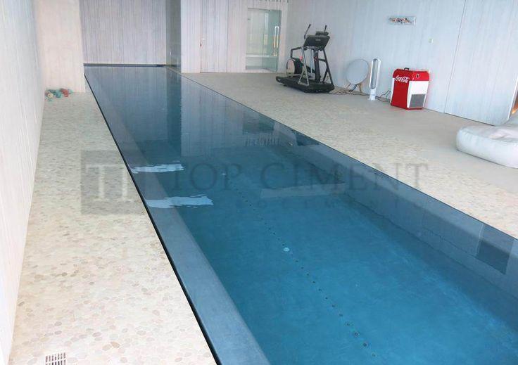 Fotos de piscinas de Microcemento con Aquaciment