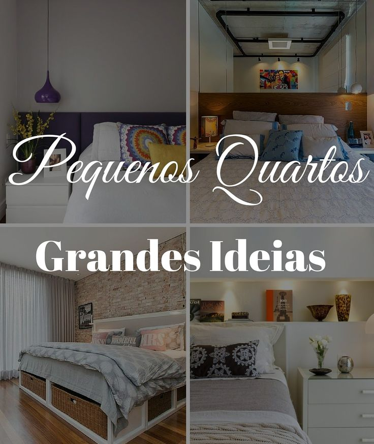 Como decorar quartos pequenos