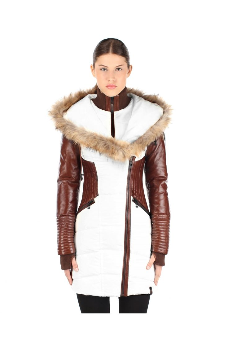 Rudsak Winter jacket- Shauna 8113955 in off white   espace miX miX
