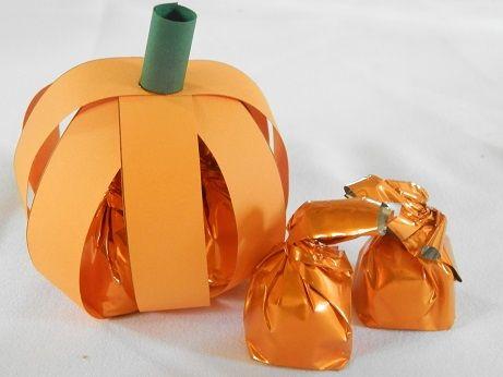 DIY Herfstdecoratie makkelijke pompoen maken