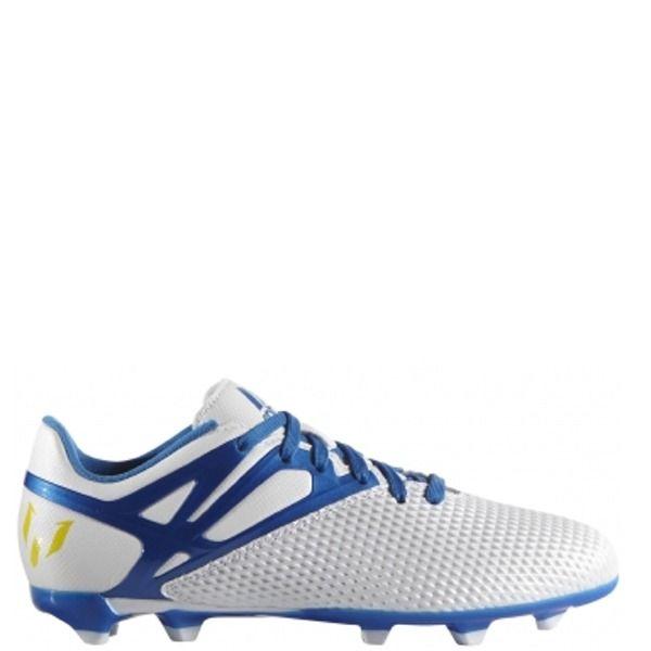 pretty nice c00ea e60cd ... WhiteEnergy BlueClear adidas Messi 15.3 FGAG J WhitePrime BlueBlack  Youth Soccer Cleats Adidas ACE ...