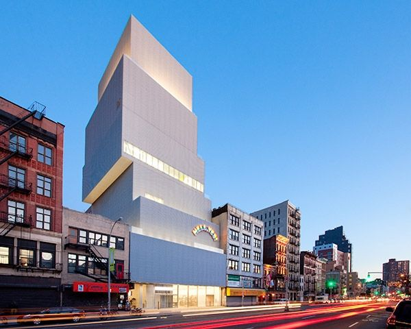 SANAA, New Museum of Contemporary Art, New York Architecture: Kazuyo Sejima and Ryue Nishizawa