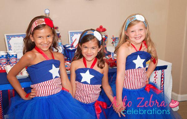 Captain America Birthday party | Savvy Sassy Moms