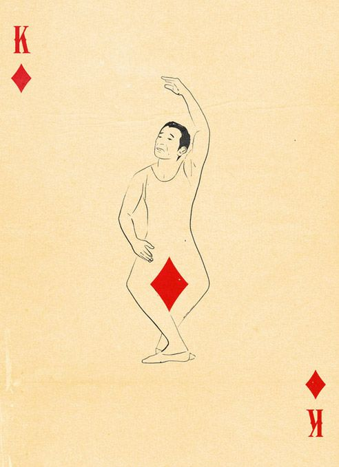 King of Diamonds - by Patrik Svensson (Swedish graphic designer)