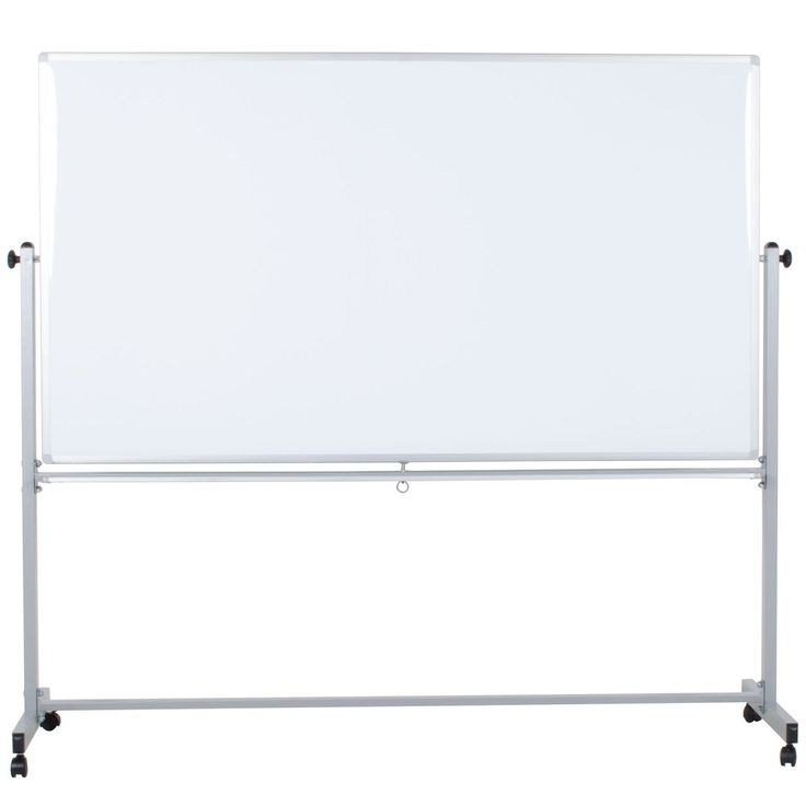 Luxor Double Sided Magnetic Whiteboard  Inch Mb7240ww