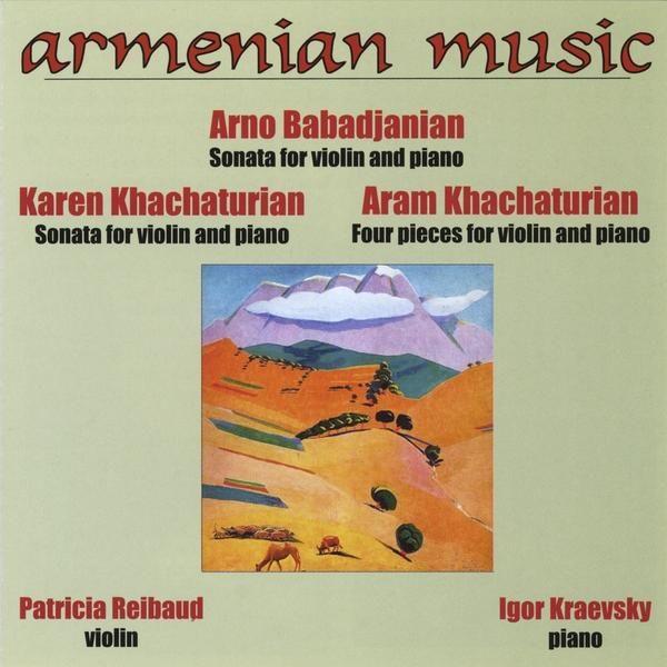 Igor & Patricia Reibaud Kraevsky - Armenian Music