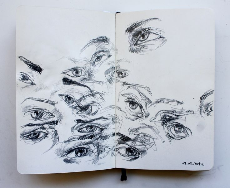 practice makes perfect drawing eyes sketch