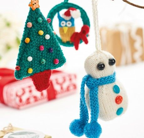 1000+ images about Christmas ideas to knit, sew and craft on Pinterest