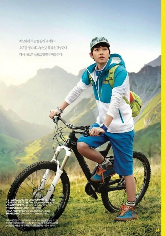 Song Joong Ki --- The North Face