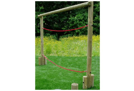 Parallel Ropes | Childrens Playground Equipment | Treated Timber Frame | Suppliers UK