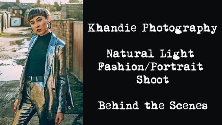 Fashion Photo Shoot - Outside Natural Light at Midday
