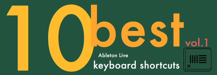 best ableton live shortcuts for mac, osx, windows  using shortcuts while performing repetitive tasks in software can save you  up to 60 hours per year according to some estimates. ableton is no  exception - that's more time you can spend on your productions or buying  groceries or whatever. so