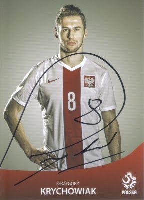 Pamiątki sportowe: Grzegorz Krychowiak