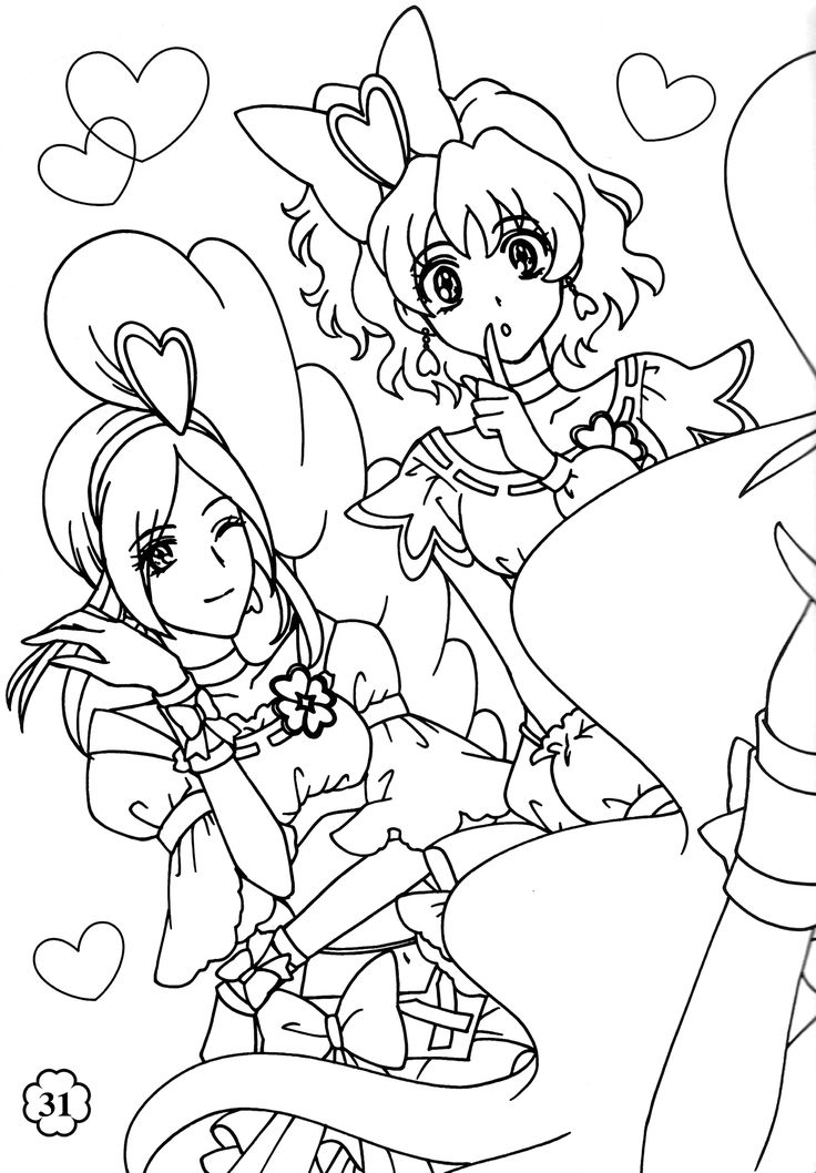 38 best coloriage fresh pretty cure images on Pinterest